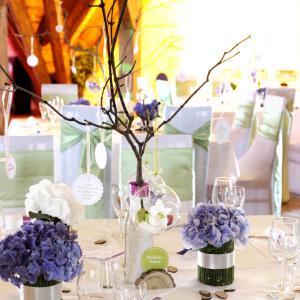 Tischdeko Hochzeit Mit Hortensien Teurer Schmuck
